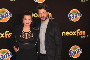 Torrebe y Alvaro Morte - Alfombre Neox 1 Firmada